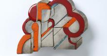 Hermann Jünger. Brosche, Silber, Email, 1968, Die Neue Sammlung - The Design Museum, Dauerleihgabe der Danner-Stiftung, Foto: Die Neue Sammlung (A. Laurenzo)