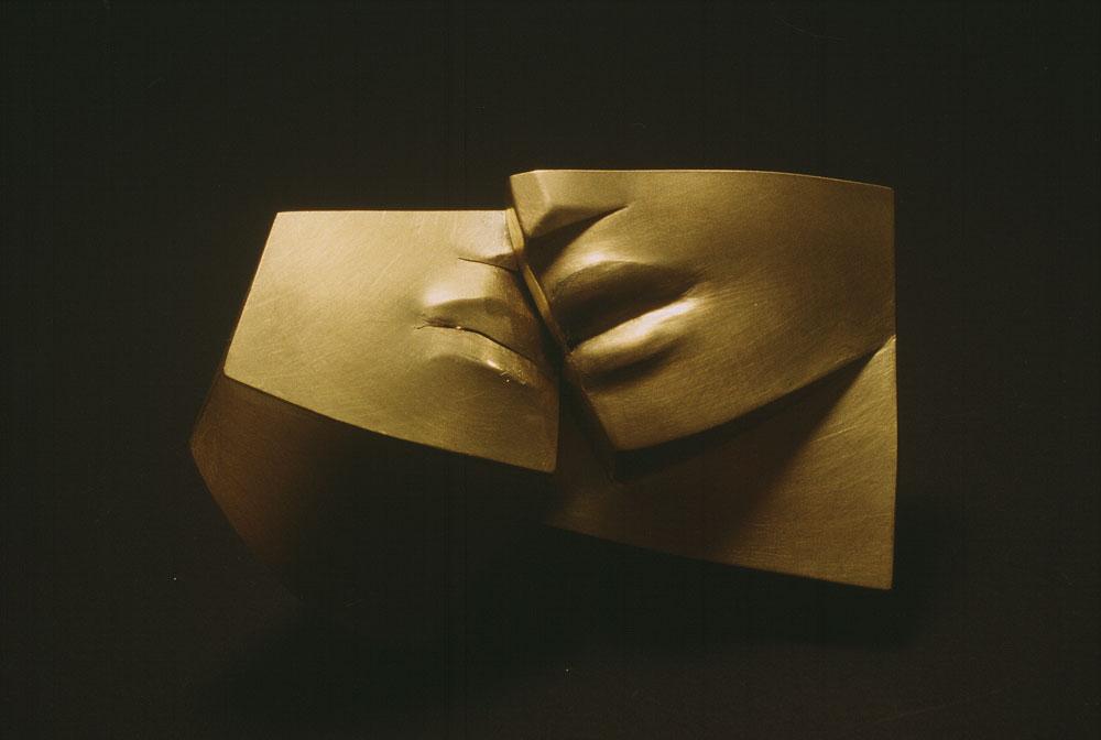 Bruno Martinazzi. Halsschmuck Quiel Piegare, 1999, Gold 20K